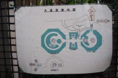 大温室案内図