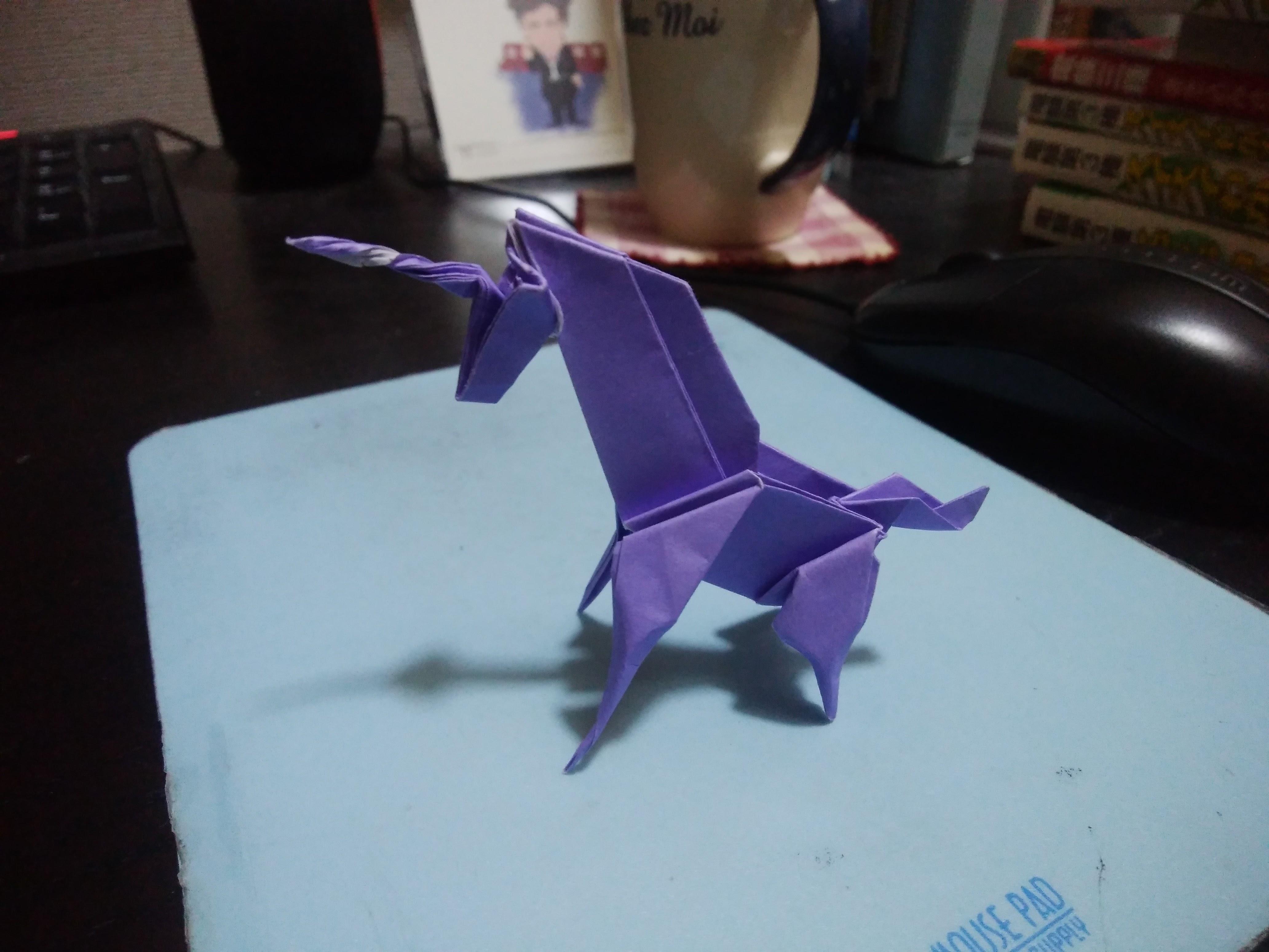 【作ってみた】折り紙
