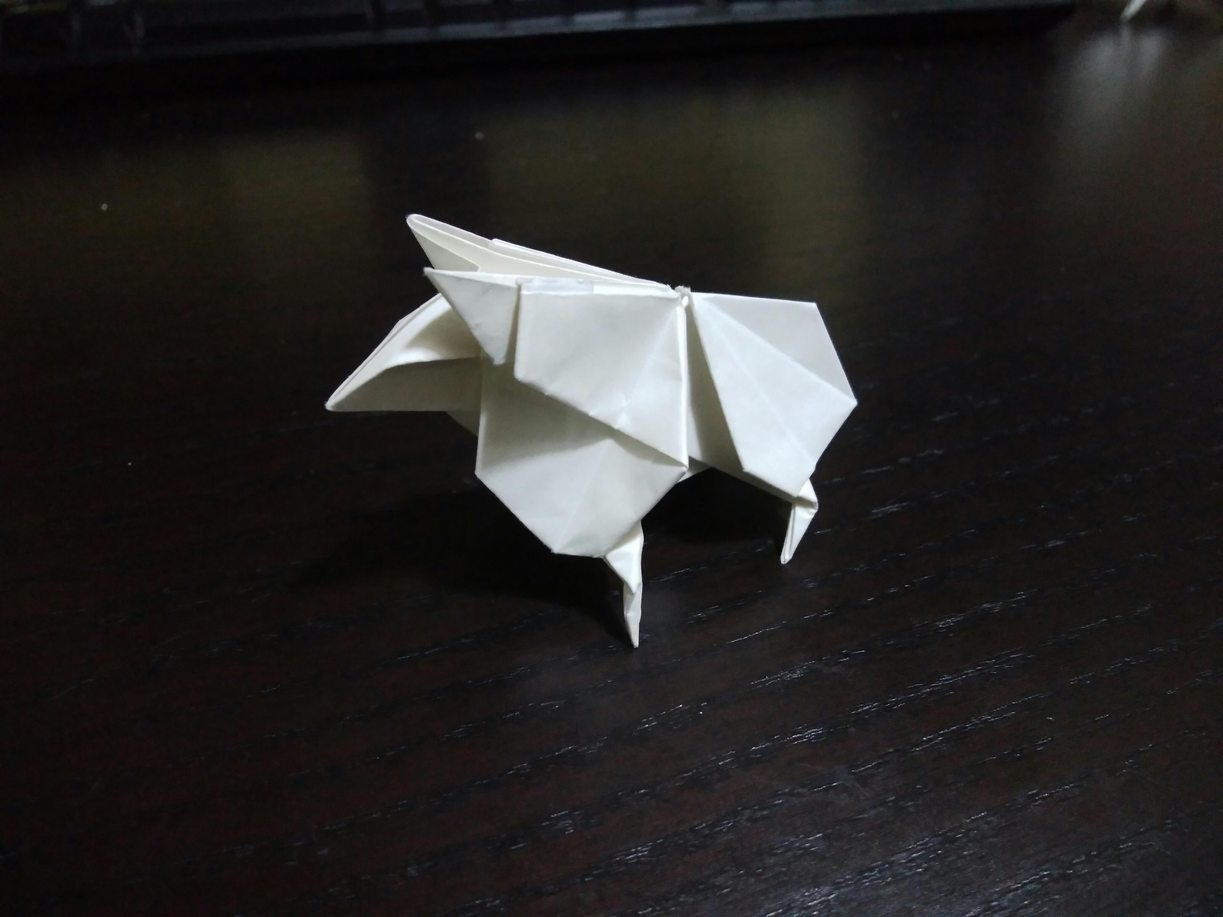 【折り紙】ブレードランナーと折り紙
